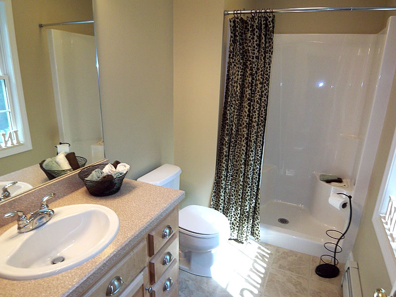 Staging a bathroom home design ideas and pictures for Bathroom staging ideas