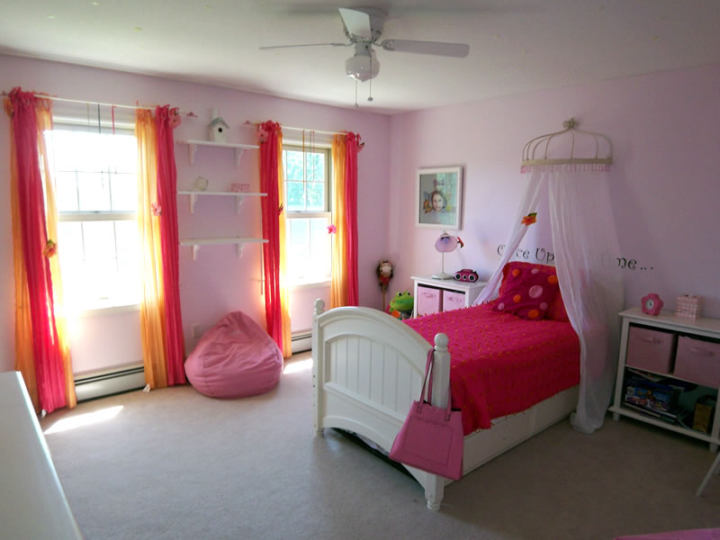 Interior A Girls Room third times a charm the evolution of girls bedroom pink bedroom