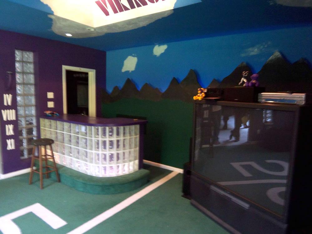 Residential Man Cave Media Room Ideas Diy