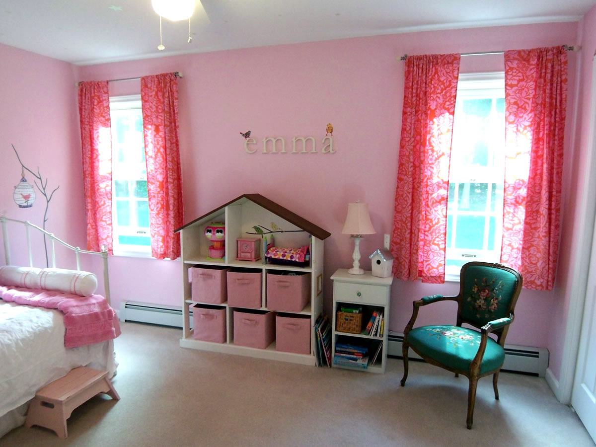 A pink room without princess accessories for Bedroom ideas pink