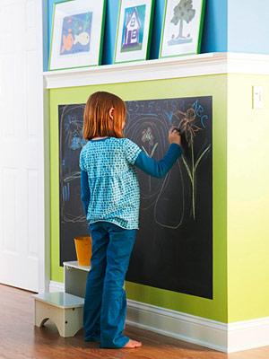 BHG Chalkboard Wall