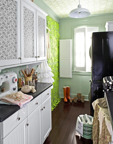 My laundry closet needs a makeover for Country laundry room