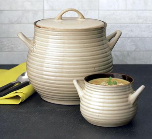 Crate and Barrel Soup Pot