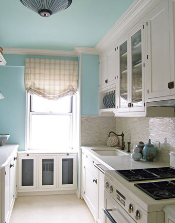 Kitchen Cabinets Up To Ceiling ideas for that awkward space above your kitchen cabinets