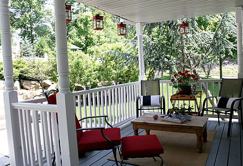 Use What You Have Porch Design