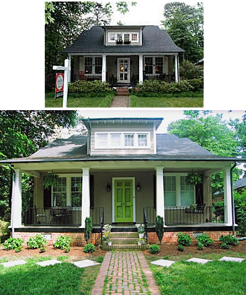 Picking The Right Front Door Color Before And After Case