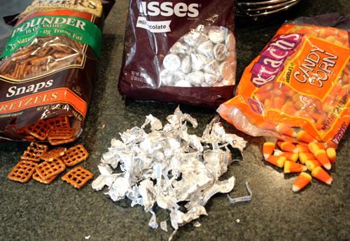 ingredients for halloween treats
