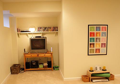 basement after