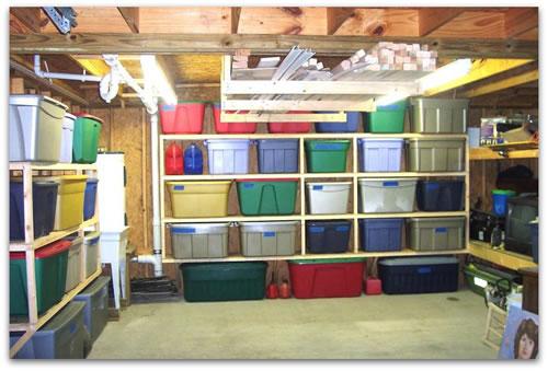 Charmant Organized Garage