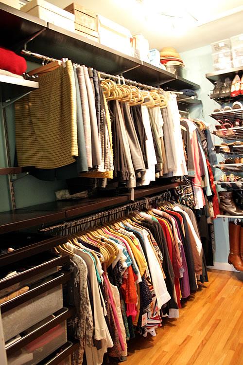 closet - her side