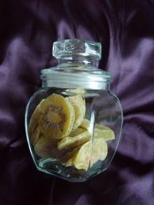 glass apothecary jar for storage
