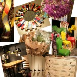 interior design montage from Las Vegas Winter Market 2012