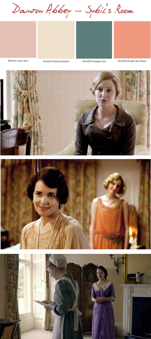 downton abbey sybil's room