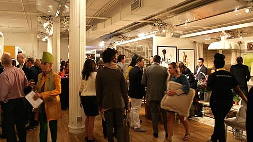 fun crowd at design on a dime
