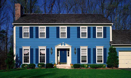 A Rainbow of Paint Colors for Your Home\'s Exterior