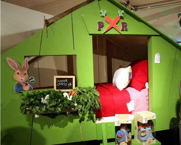 peter rabbit kids room idea