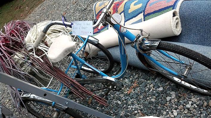 Trike at estate sale