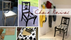 Upcycled Chair Revival