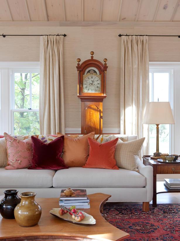 fall colors interior design