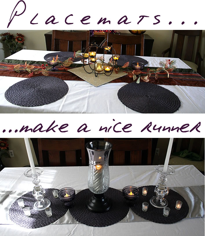 fun with placemats