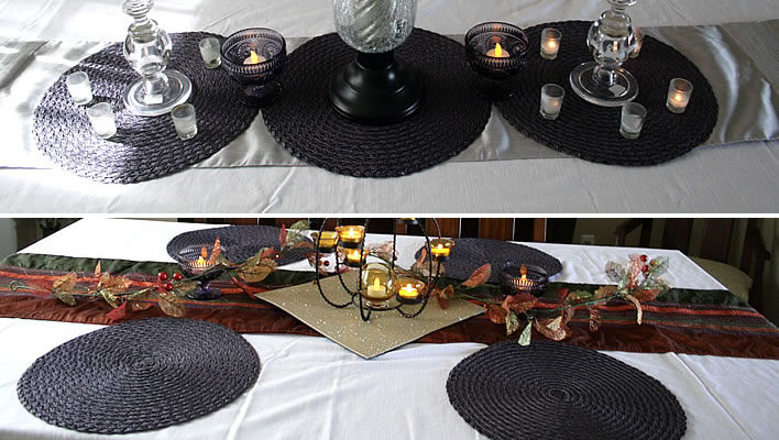 repurposed holiday tablescape ideas feature