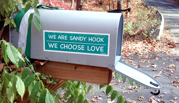 sandy hook we choose love