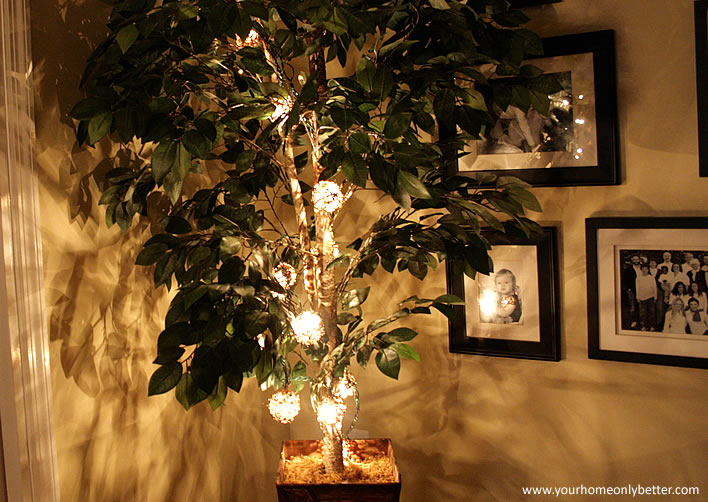 How To String Xmas Lights On Bushes : 9 Post-Holiday Uses for String Lights