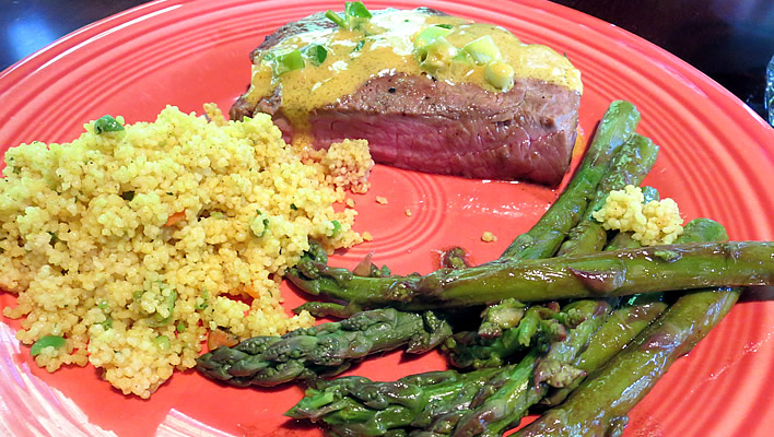 Tangy Mustard Marinated Steaks #NaturallyAmazing