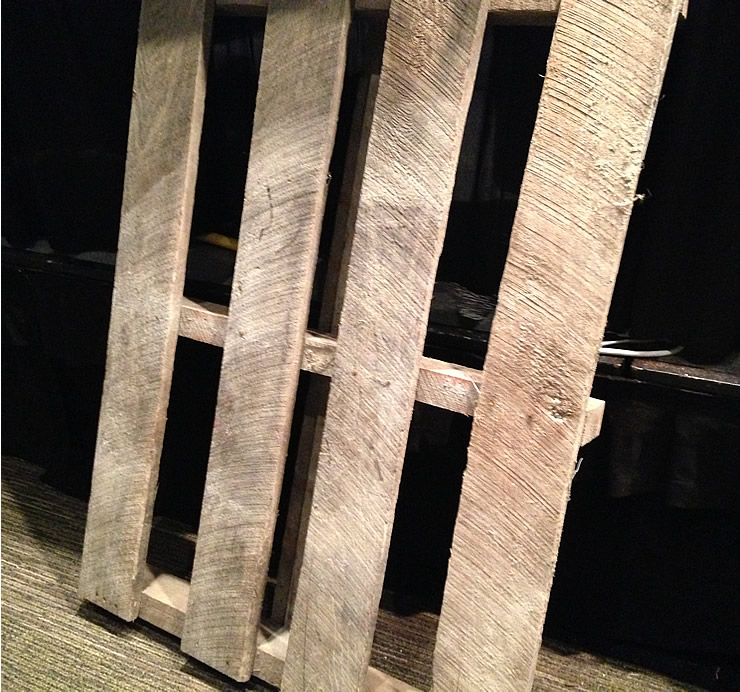 Turning Old Pallets into New Patio Furniture #repurpose #upcycle #yourhomeonlybetter #NWFGS