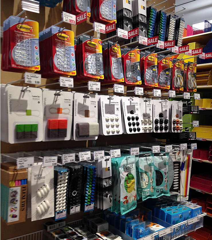 Back to school organization at The Container Store